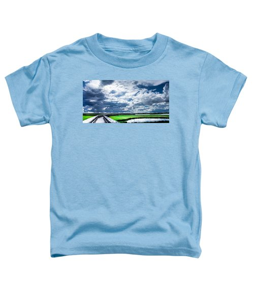 Walk With Me In The Sky Toddler T-Shirt