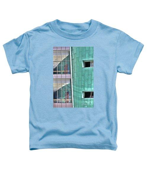Wall Of Windows Toddler T-Shirt