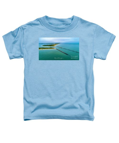 Waquiot Bay Breakwater Toddler T-Shirt