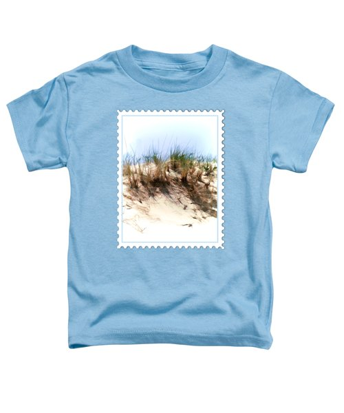 Water Color Sketch  Beach Dune Toddler T-Shirt