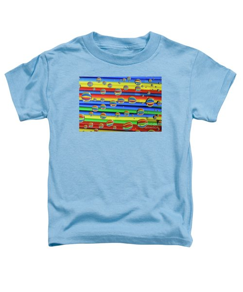 Water Droplets Toddler T-Shirt