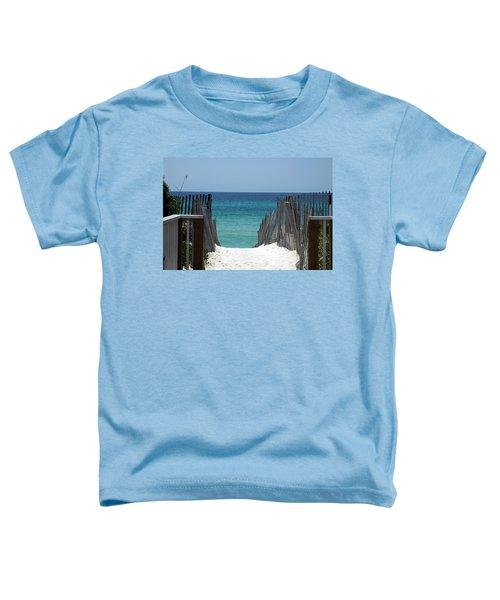 Way To The Beach Toddler T-Shirt