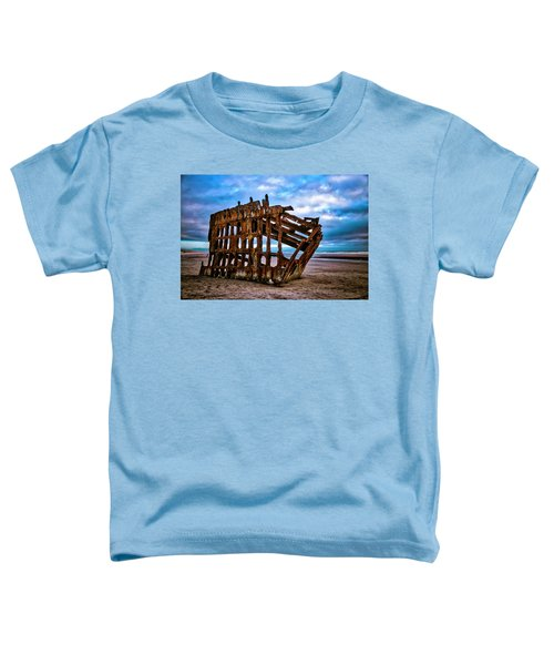 Weathered Shipwreck Toddler T-Shirt
