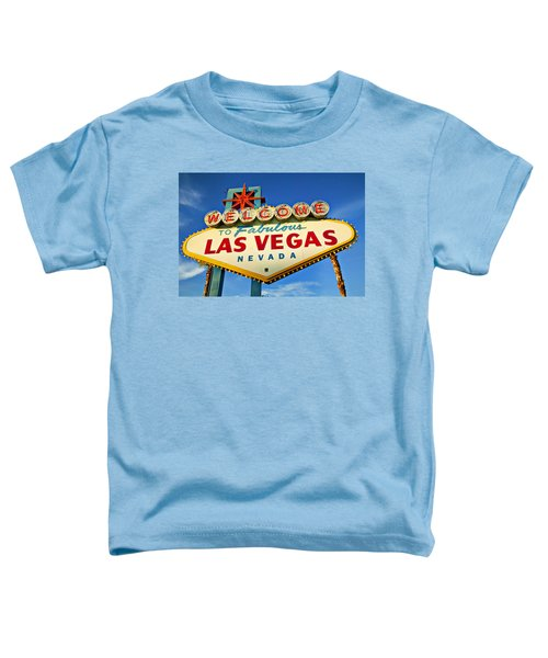 Welcome To Las Vegas Sign Toddler T-Shirt