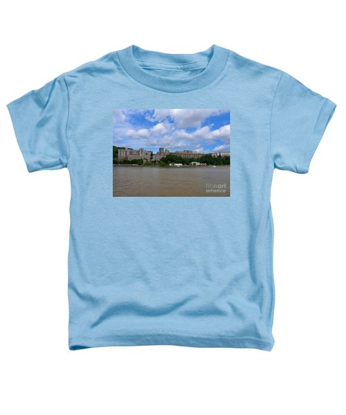 West Point From The Hudson River New York Toddler T-Shirt