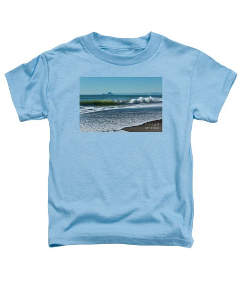 Toddler T-Shirt featuring the photograph Whale Island by Werner Padarin