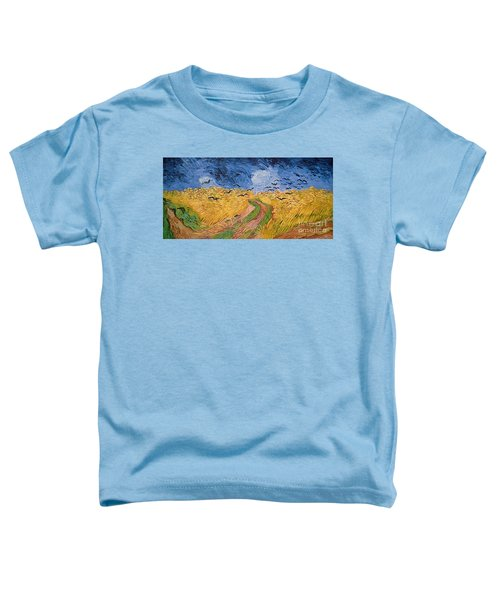 Wheatfield With Crows Toddler T-Shirt