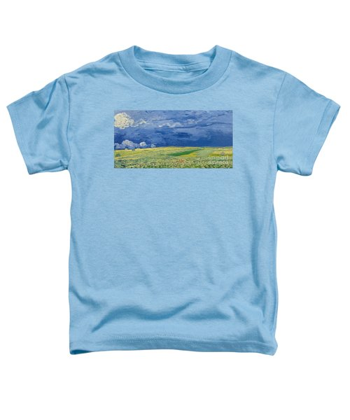 Wheatfields Under Thunderclouds Toddler T-Shirt