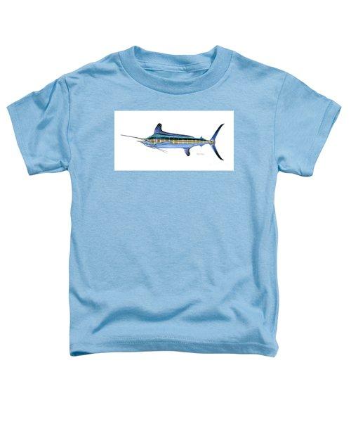 White Marlin Toddler T-Shirt