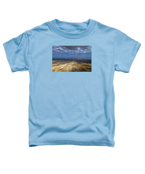 Wide View From Masada Toddler T-Shirt by Dubi Roman