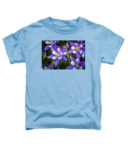 Wildflowers Blue Columbines Toddler T-Shirt
