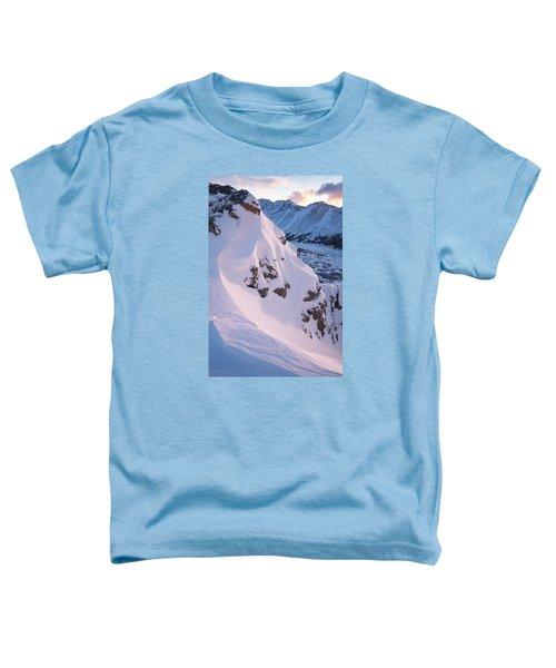 Wind-sculpted Sunset Toddler T-Shirt