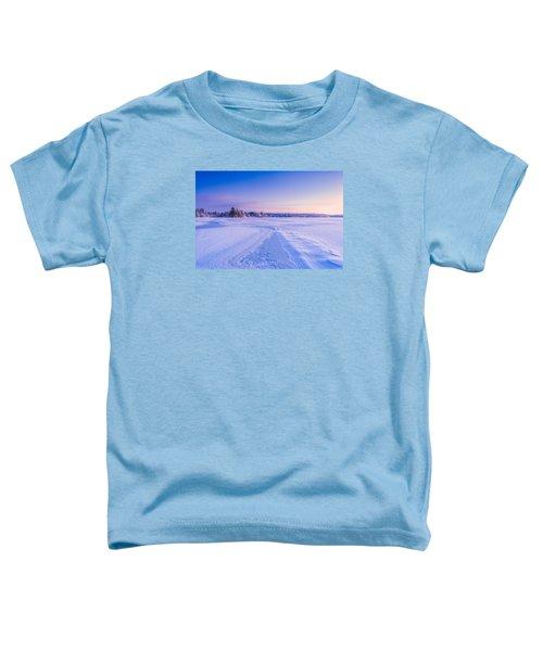 Winter Morning Baxter Lake Nh Toddler T-Shirt