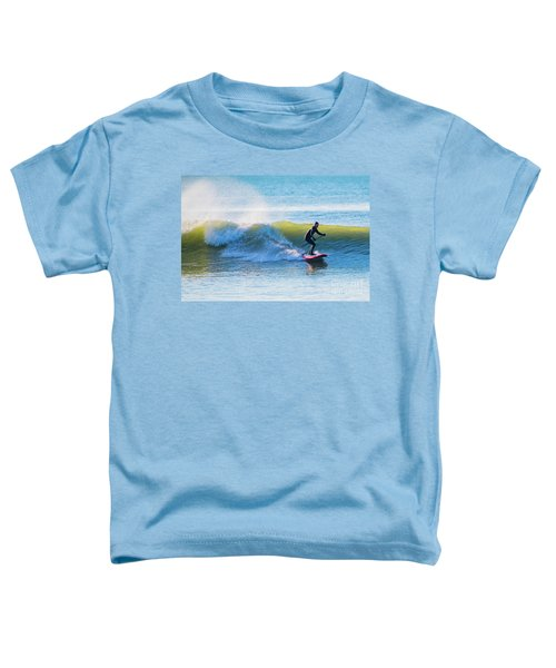 Winter Surfing In Aberystwyth Toddler T-Shirt