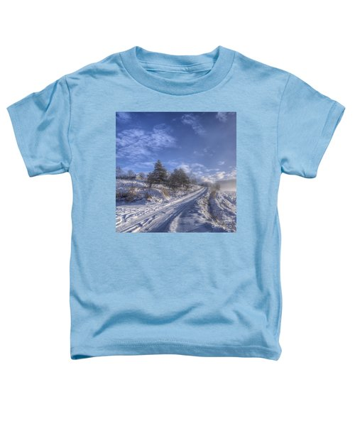 Wintry Road Toddler T-Shirt
