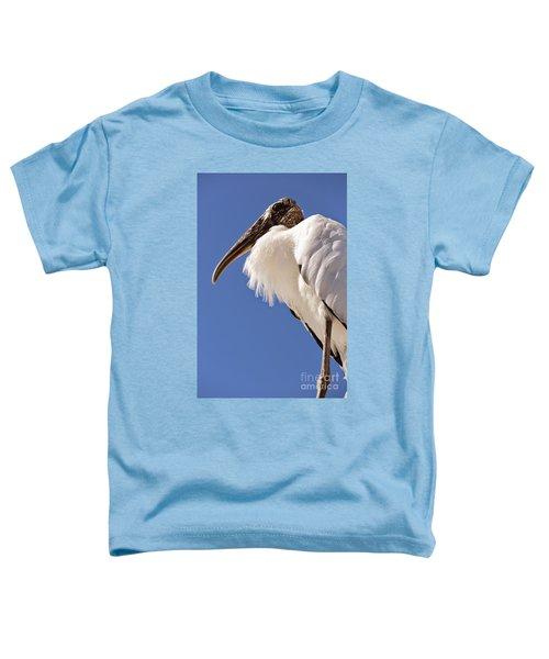 Wonderful Wood Stork Toddler T-Shirt by Carol Groenen