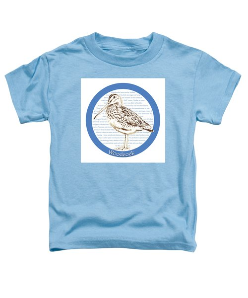 Woodcock Toddler T-Shirt by Greg Joens