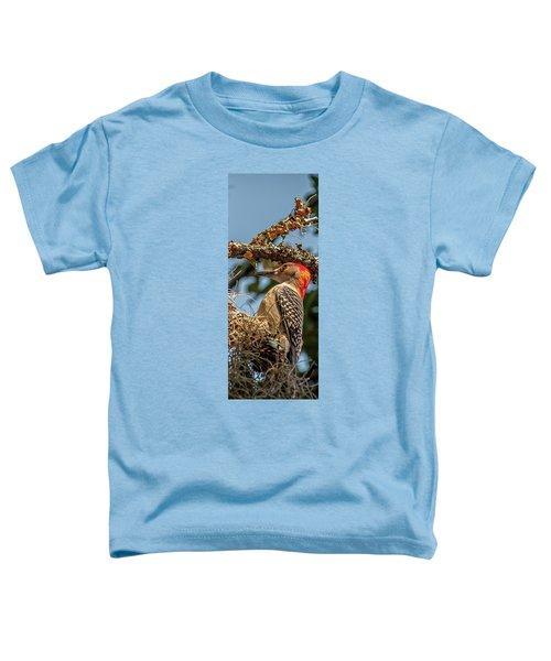 Woodpecker Closeup Toddler T-Shirt