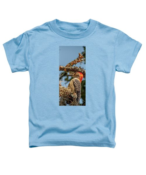 Woodpecker Closeup Toddler T-Shirt