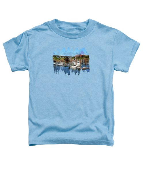 Worlds Smallest Harbor Toddler T-Shirt