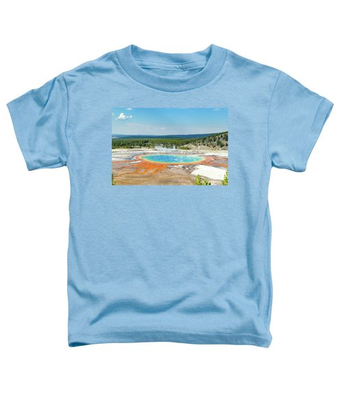 Yellowstone Grand Prismatic Spring  Toddler T-Shirt