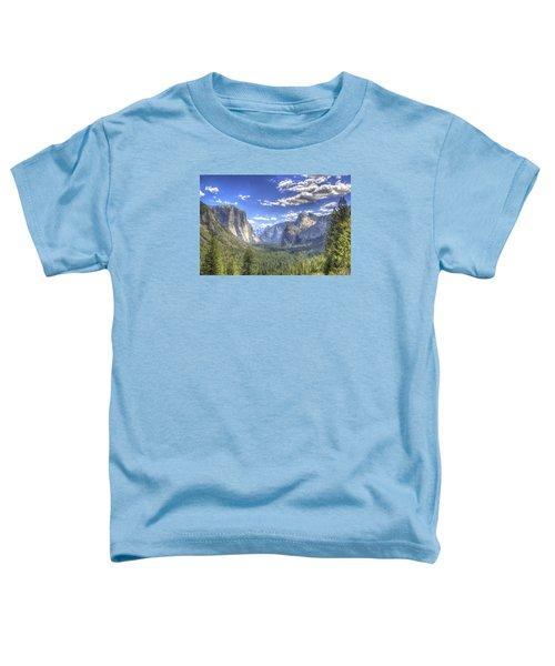 Yosemite Valley Hdr Toddler T-Shirt
