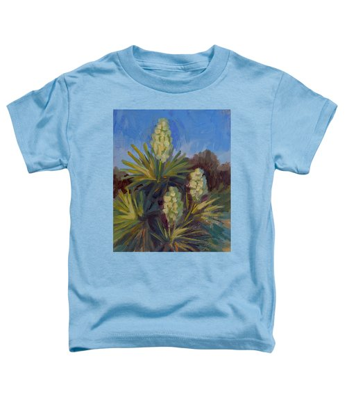 Yucca At Joshua Tree Toddler T-Shirt