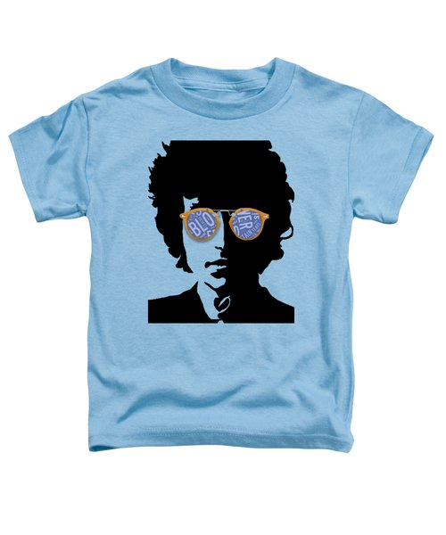 Blowin In The Wind Bob Dylan Toddler T-Shirt