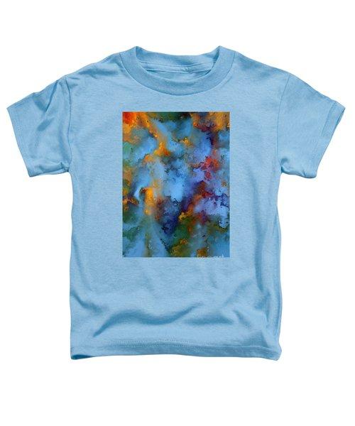 1 Peter 5 7. He Cares For You Toddler T-Shirt