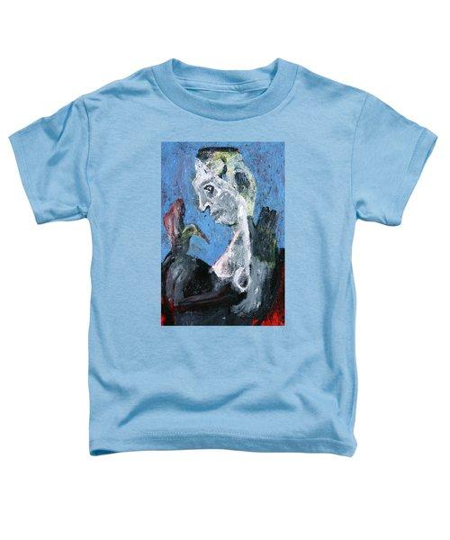 Portrait With A Bird Toddler T-Shirt