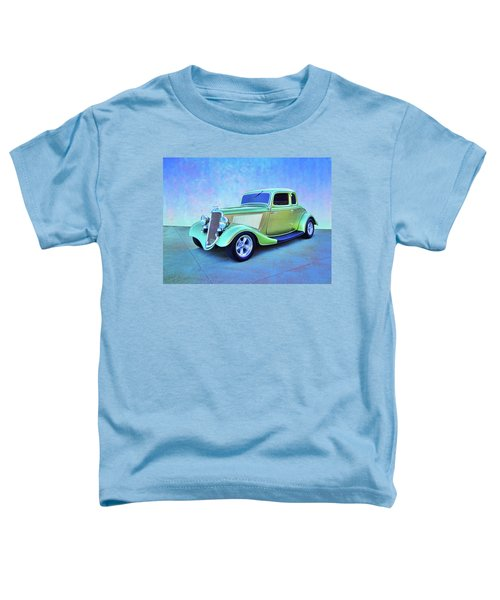 1934 Green Ford Toddler T-Shirt