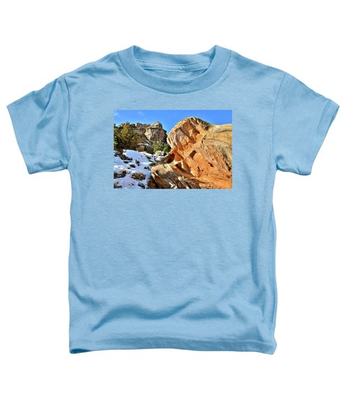 Colorful Colorado National Monument Toddler T-Shirt