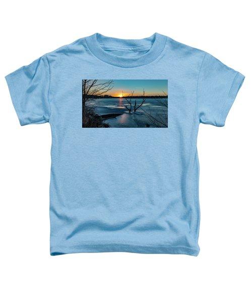 2019-012/365 January Sunset Toddler T-Shirt