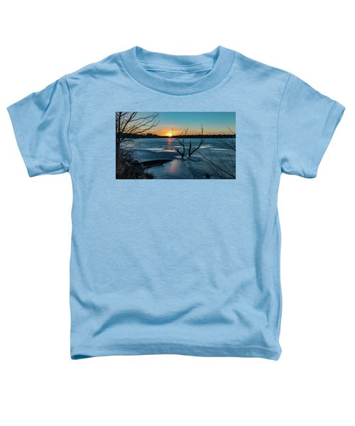 2019-012/365 January Sunset Toddler T-Shirt