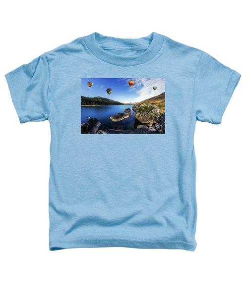 Llynnau Mymbyr Toddler T-Shirt