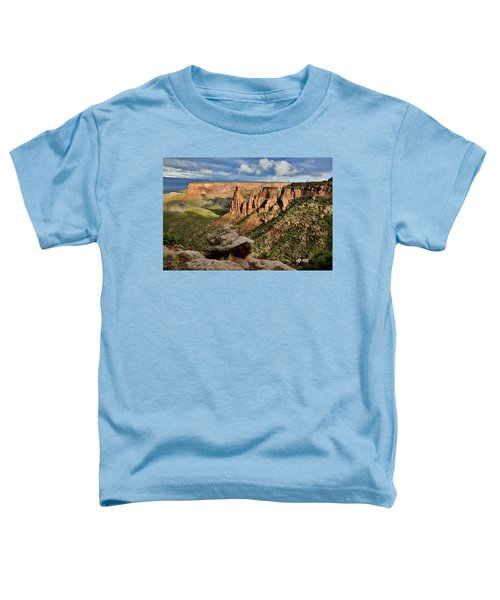 After The Storm Light On Colorado National Monument Toddler T-Shirt