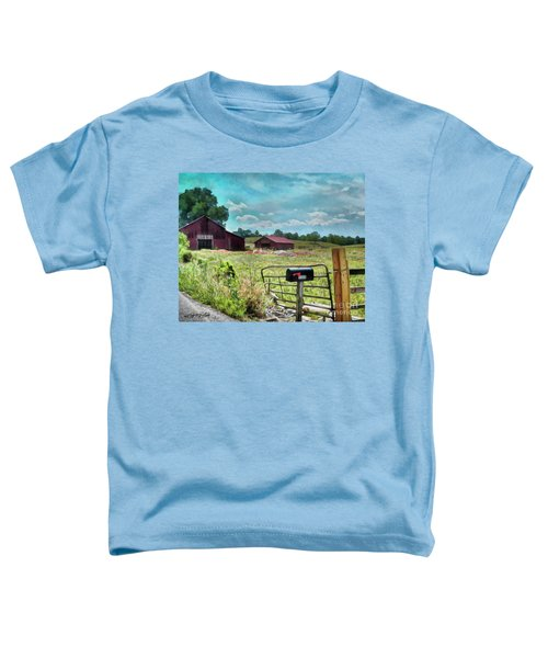 Along The Rural Road Old Barn In Tennessee II Toddler T-Shirt