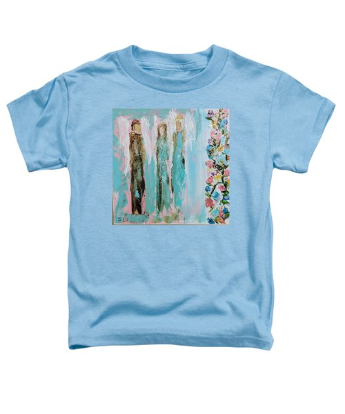 Angels In The Garden Toddler T-Shirt