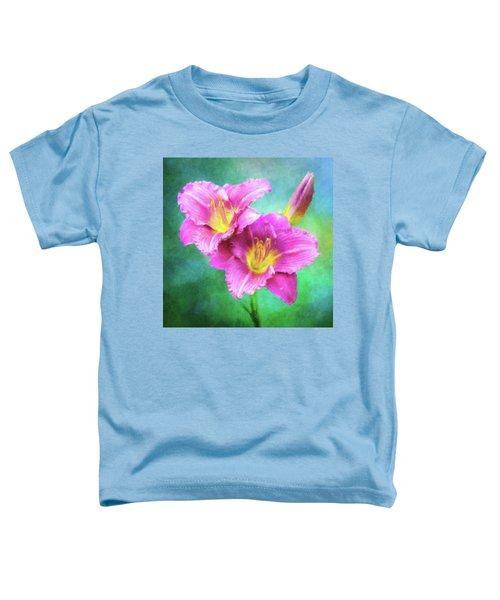 Dynamic Daylily Duo Toddler T-Shirt
