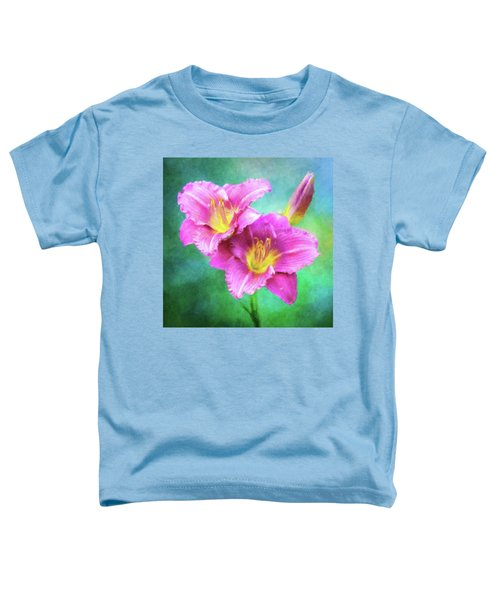 Dynamic Daylily Duo Toddler T-Shirt