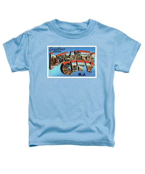 Atlantic City Greetings #3 Toddler T-Shirt
