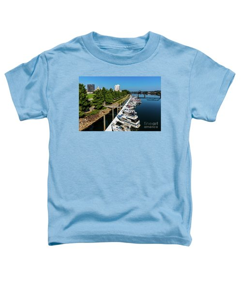 Augusta Ga - Savannah River Toddler T-Shirt