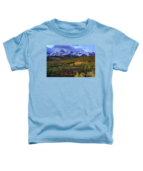 Autumn At The Dallas Divide Toddler T-Shirt