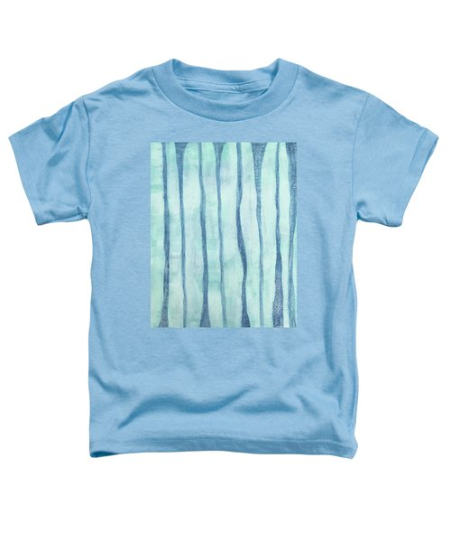 Beach Collection Beach Water Lines 2 Toddler T-Shirt