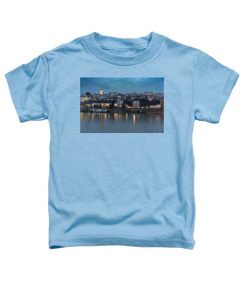 Belgrade Skyline And Sava River Toddler T-Shirt