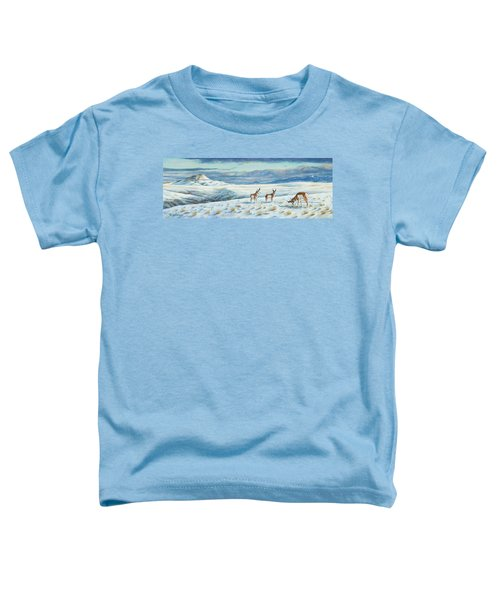 Belt Butte Winter Toddler T-Shirt