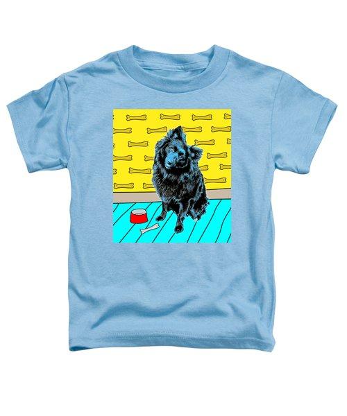 Blue Dog Toddler T-Shirt