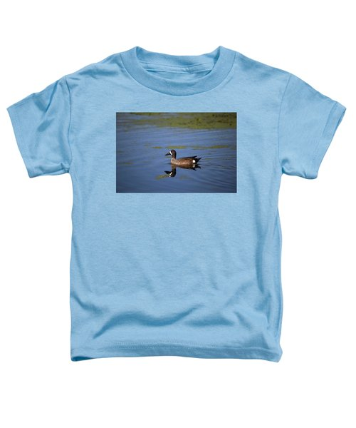 Blue Winged Teal Toddler T-Shirt