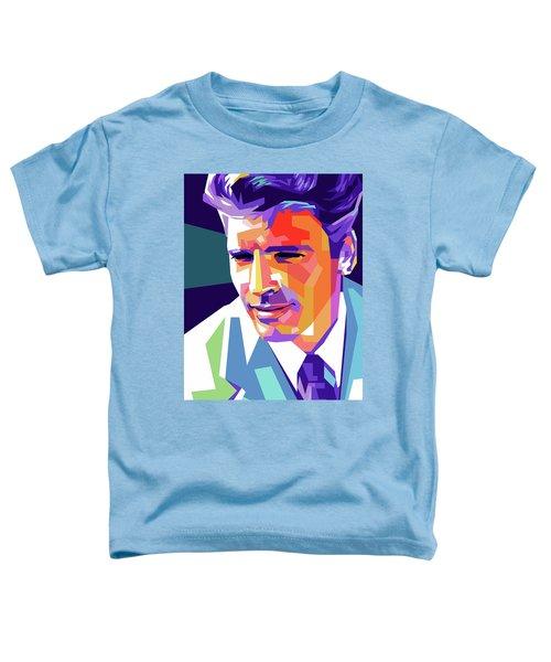 Burt Lancaster Pop Art Toddler T-Shirt