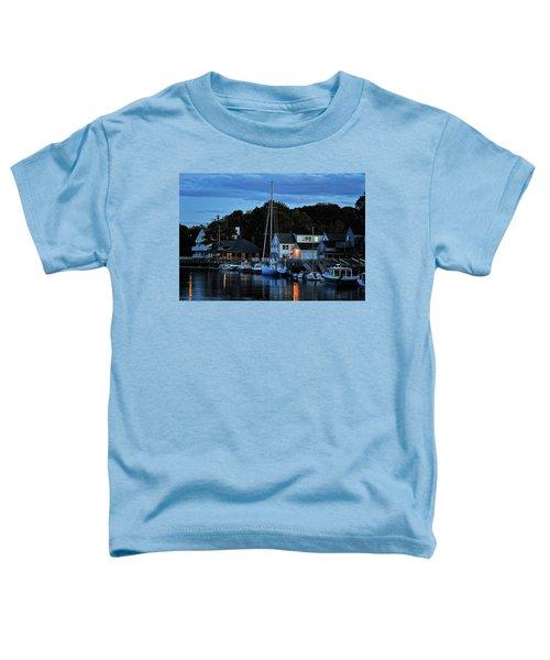 Camden Maine Twightlight Toddler T-Shirt